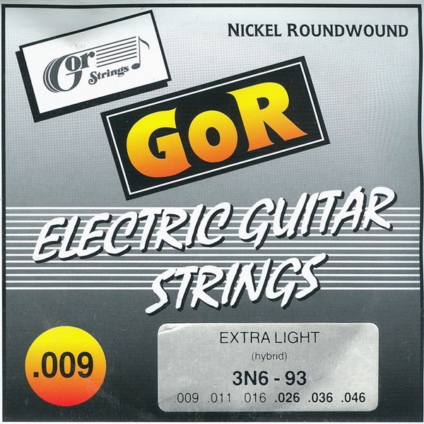 GOR Strings 3N6-93 Hybrid-Extra Light