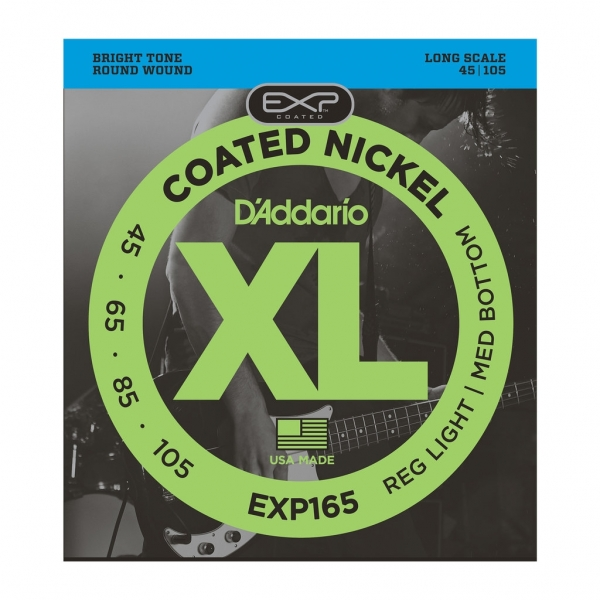 D'Addario EXP165 EXP Coated Long Scale