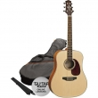 Ashton D25CEQ NTM Guitar Pack