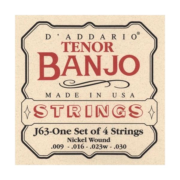 D'Addario J63 Tenor Banjo 4-String