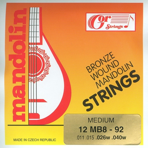 GOR Strings 12MB8-92 Mandolin-Medium