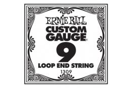 Ernie Ball 1309 .009 Loop End Banjo