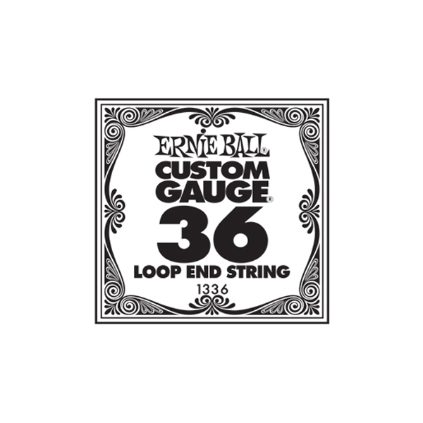 Ernie Ball 1336 .036 Loop End Banjo