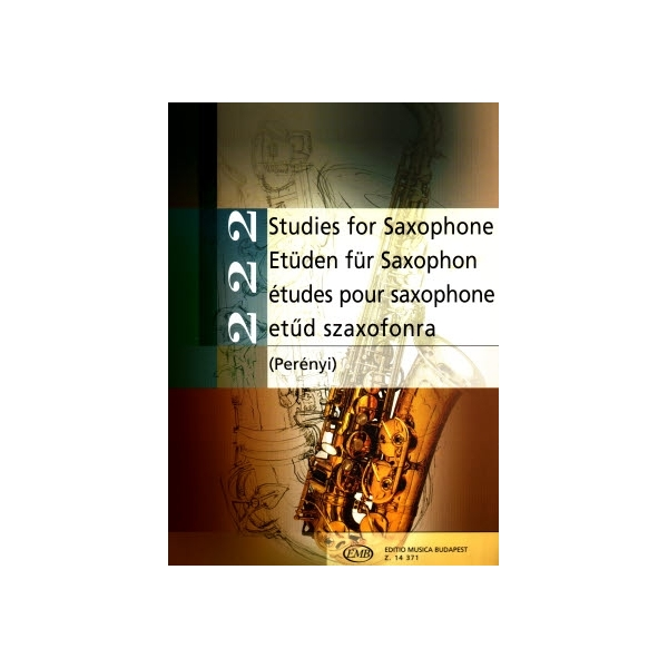 MS 222 Studies for Saxophone
