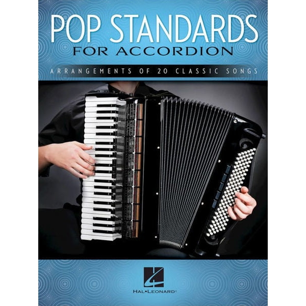 MS Pop Standards For Accordion: Arrangements Of 20 Classic Songs