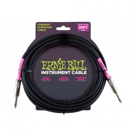 Ernie Ball 6046 nástroj. kábel 6m J-J