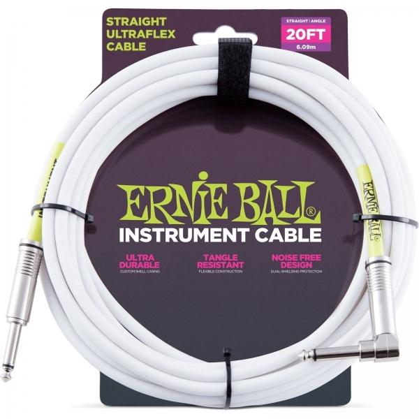 Ernie Ball 6047 nástroj. kábel 6m J-J lom.