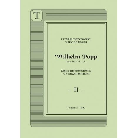 Popp II. Etudy pre flautu