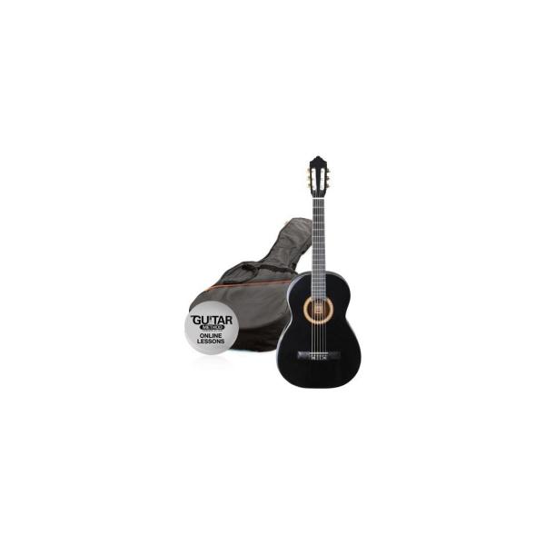 Ashton SPCG 12 BK gitara 1/2 Pack