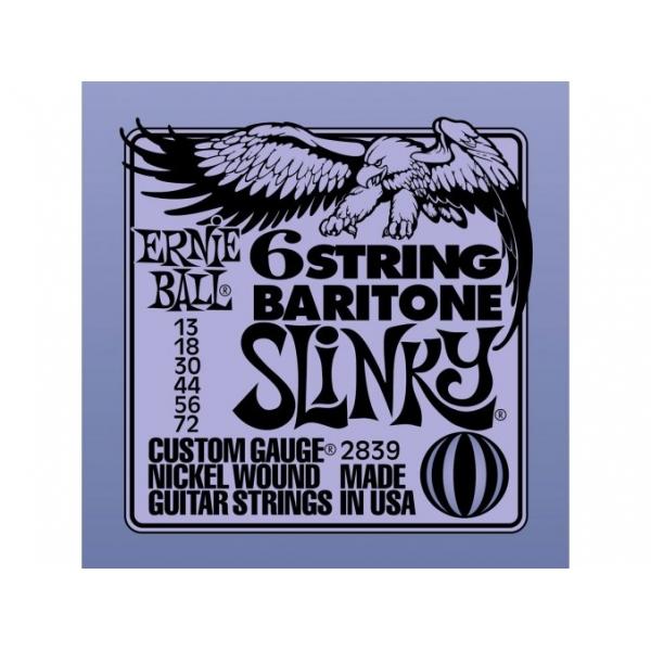 Ernie Ball 2839 Slinky 6-String Baritone