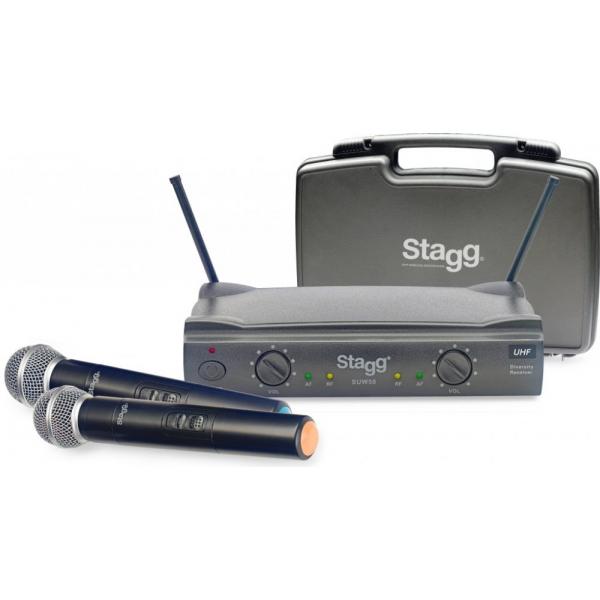 Stagg SUW 50 2 kanálová mikrofónna sada