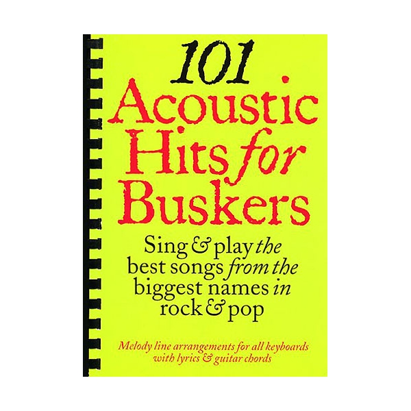 MS 101 Acoustic Hits For Buskers