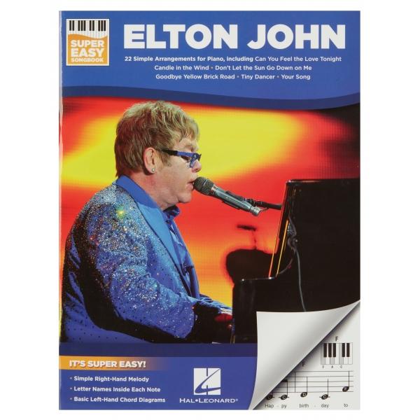 MS Super Easy Songbook - Elton John