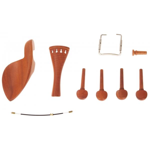 PALATINO Violin Set Boxwood One 4/4