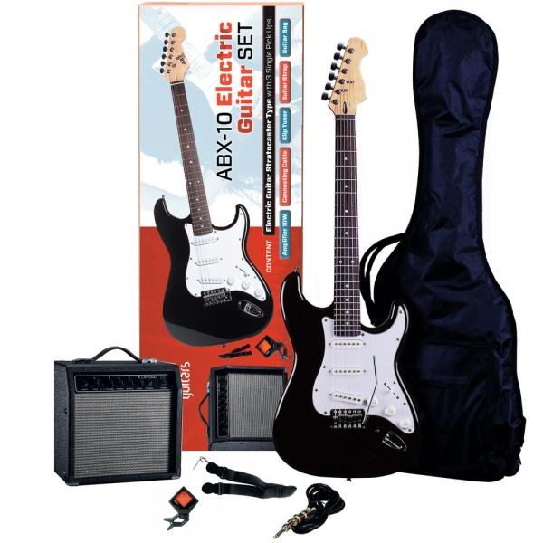 ABX 10 gitarový set Black