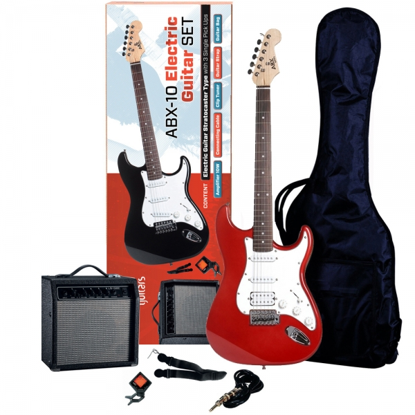 ABX 20 gitarový set Red