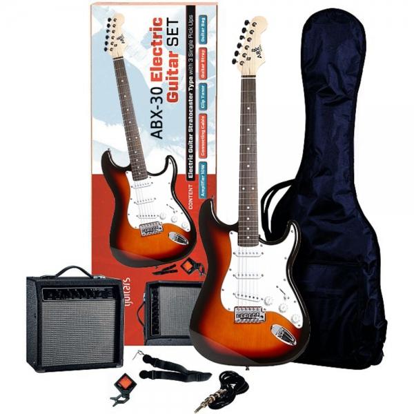 ABX 30 gitarový set Sunburst