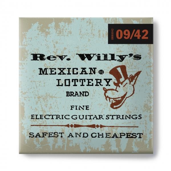 DUNLOP Billy Gibbons Custom Rev Willy's Guitar Strings 9-42