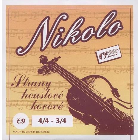 Gorčík 9 Nicolo struny sada husle