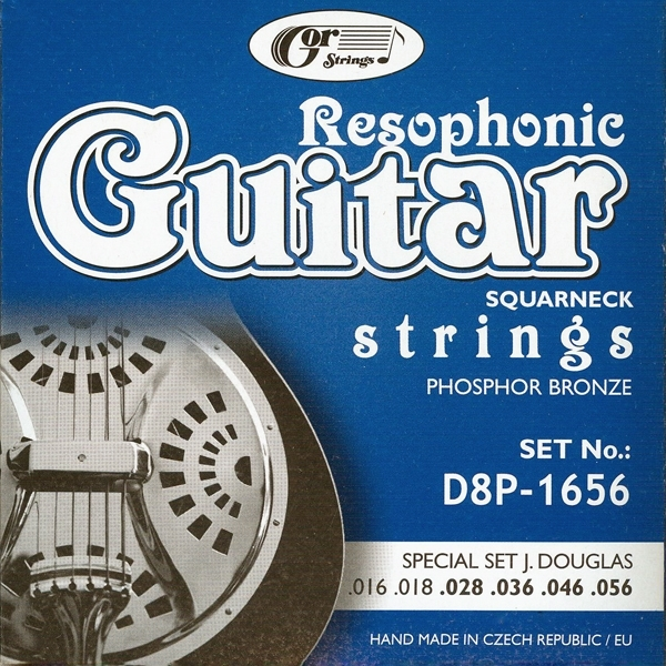 GOR Strings D8P-1656 Resophonic-J.Douglas Special Set