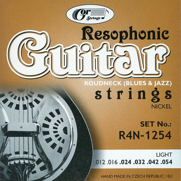 GOR Strings R4N-1254 Resophonic-Light