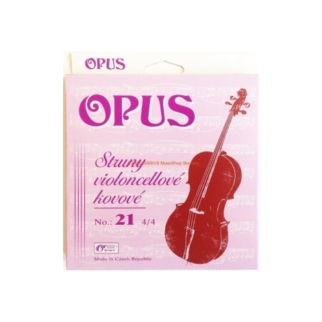 Gorčík 21 Opus sada cello