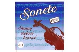 Gorčík 17 Sonete sada viola