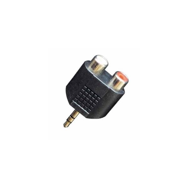 Proel AT128 redukcia 3.5mm st/2x RCA