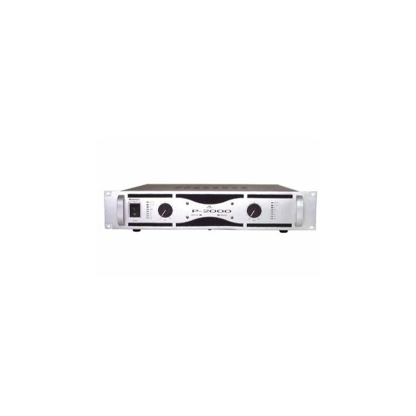 Omnitronic P-2000 zosilňovač 2x1000