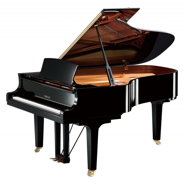 Yamaha C6X-PE Grand Piano Polished Ebony